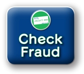 check fraud button